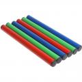Палочка эстафетная алюминивая цветная (комплект 6 шт.)