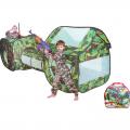 Игровая палатка СЛ Секретный объект с туннелем