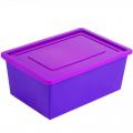 Ящик универсальный для хранения с крышкой СЛ 51 х 36 х 20 см 30л