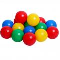 Шарики для сухого бассейна с рисунком СЛ, диаметр шара 7,5 см, набор 500 шт.