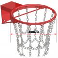 Кольцо баскетбольное антивандальное, усиленное, с цепью