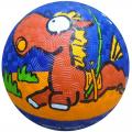 Мяч резиновый Larsen 14 см с рисунком