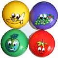 Мяч силиконовый Фрукты FRB-9 9 см