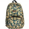 Рюкзак молодёжный на молнии СЛ Хаки, 1 отдел, 2 наружных и 2 боковых кармана, усиленная спинка 30х44 см