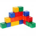 Набор цветных кубиков СЛ 20 штук 6 х 6 см