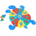 Коврик Черепаха с цифрами СЛ 45445