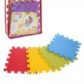 Детский коврик-пазл СЛ Радуга (мягкий), 9 элементов 33 х 33 х 0,9 см