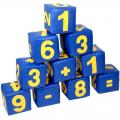 Набор мягких модулей Цифры СЛ из 10 кубиков