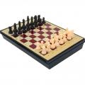 Игра настольная Шахматы с ящиком, магнитные СЛ арт.578804