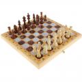 Шахматы, шашки, нарды средние 3 в 1 Мраморные СЛ 40 см