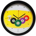 Часы бильярд SN5024 d=29,5см