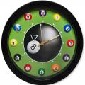 Часы бильярд SN5028 d=29,5см