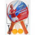 Набор для настольного тенниса РОССИЯ (2 ракетки, 3 мяча, сетка