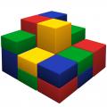Мягкий спортивный модуль РМ Пирамида