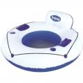 Круг-кресло для отдыха на воде, с подстаканниками Bestway 43108, 119см SL