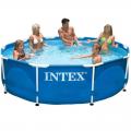 Бассейн каркасный INTEX 28210 Metal Frame Set круглый (366 х 76 см)