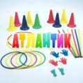 Детский гимнастический набор АТЛАНТИК ДС №3 (36 предметов)