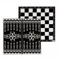 Доска для шахмат и нард SL складная (35 x 37 x 1 см)