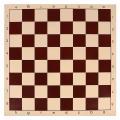 Доска шахматная SL клетка 4,8 см, коричневая, 42 х 42 см