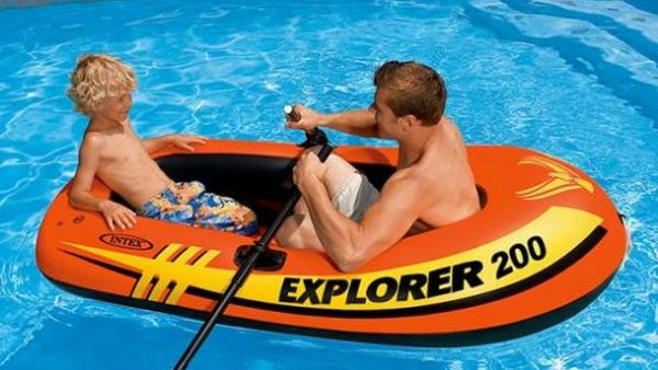 Лодка Intex Explorer 200 (185х94х41см) 58330
