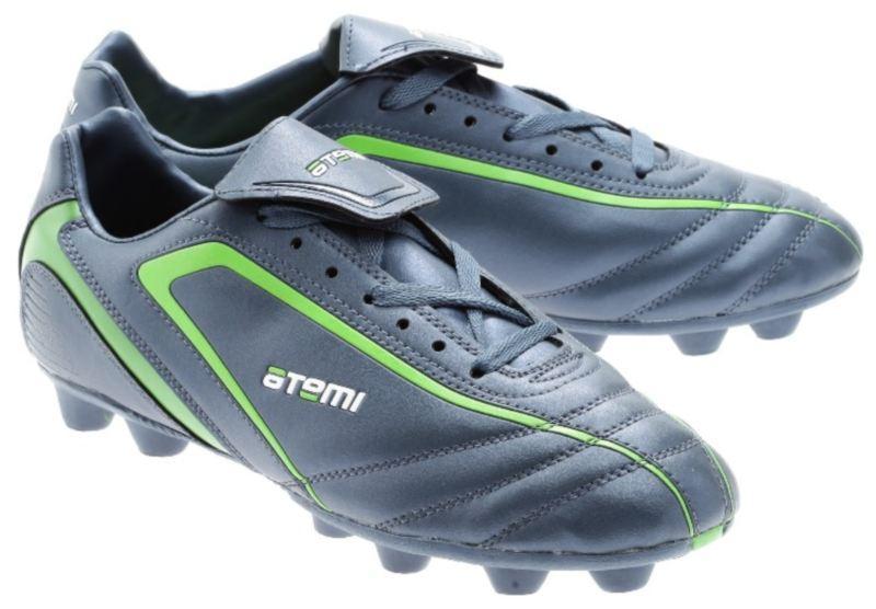 1e9e6080 Бутсы футбольные Atemi SD500 MSR (синий/зел)
