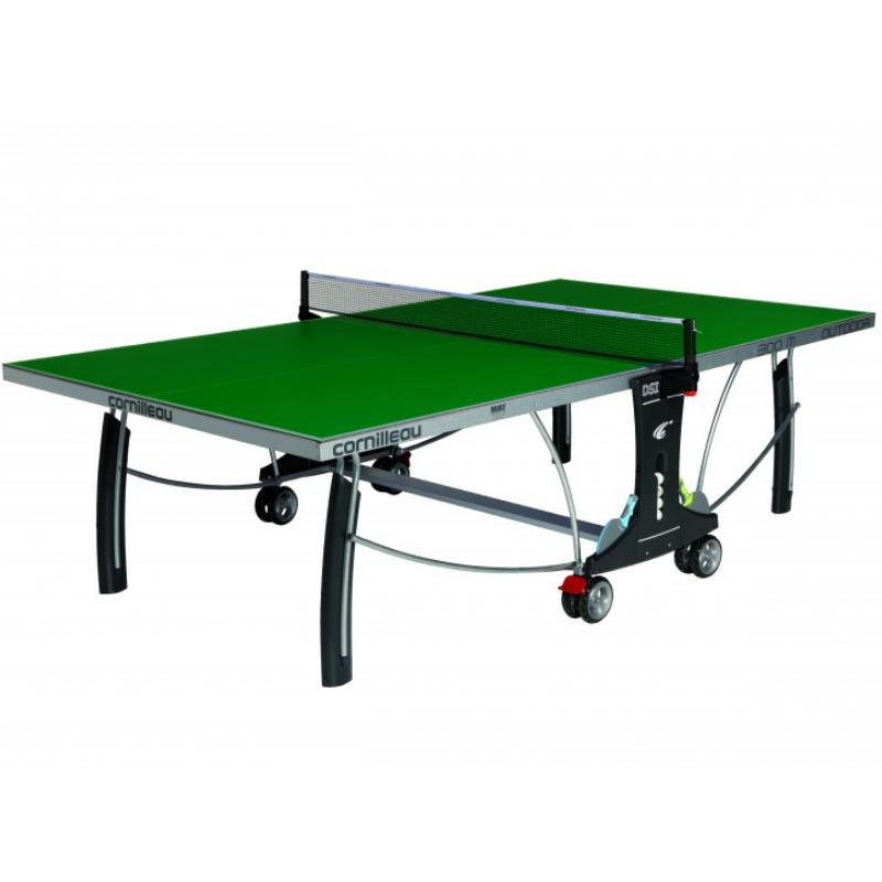 Теннисный стол всепогодный CORNILLEAU Sport 300 S Crossover с сеткой