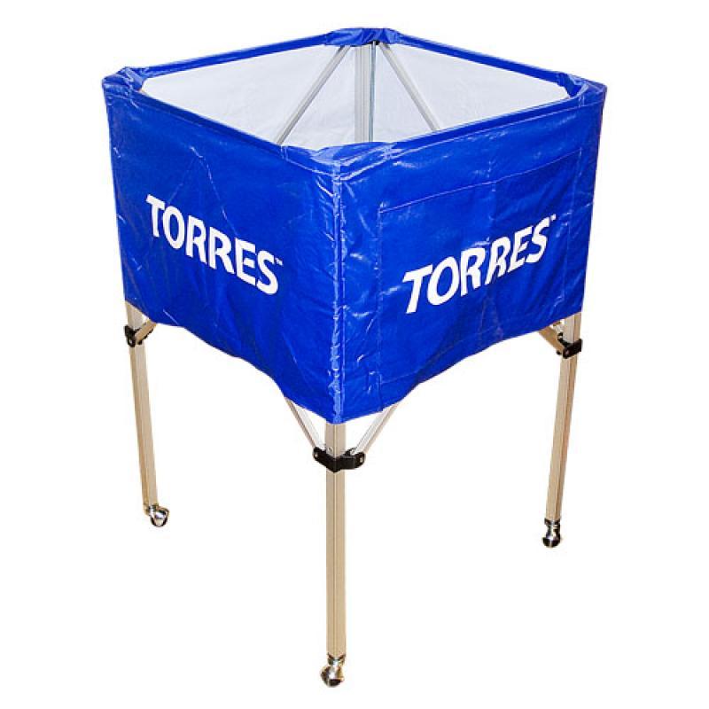 103d2c9cf2d2 Тележка для мячей TORRES SS11022 на 25-30 мячей