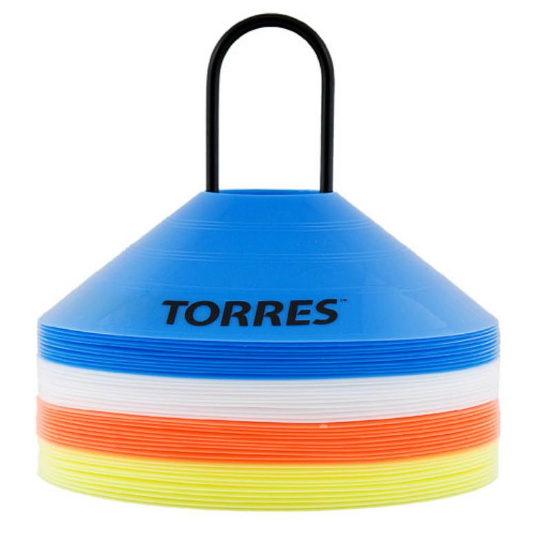 Фишки для разметки поля TORRES TR1006 5 см ( в комплекте 40 шт.)