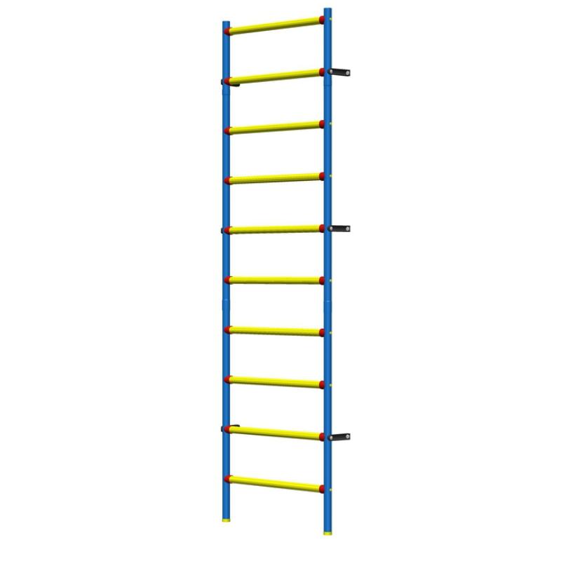 Шведская стенка пластиково-металлическая 280 х 75 см