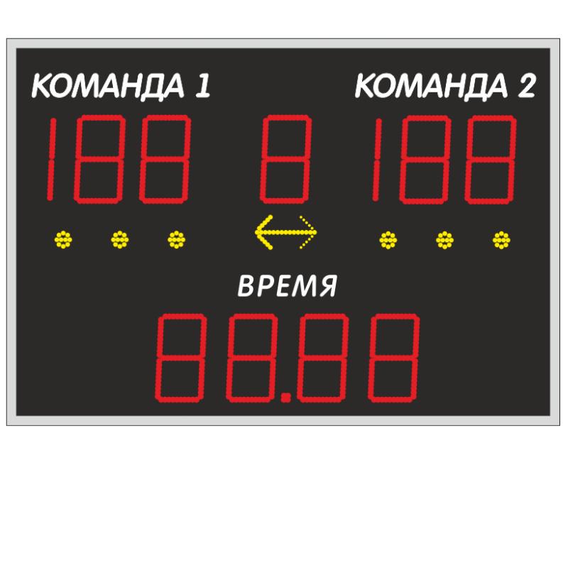 Табло универсальное ТУ 150.11-IV (1000 х 700 x 44 мм)