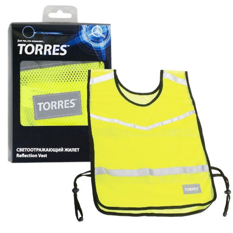Жилет TORRES светоотражающий TL11007