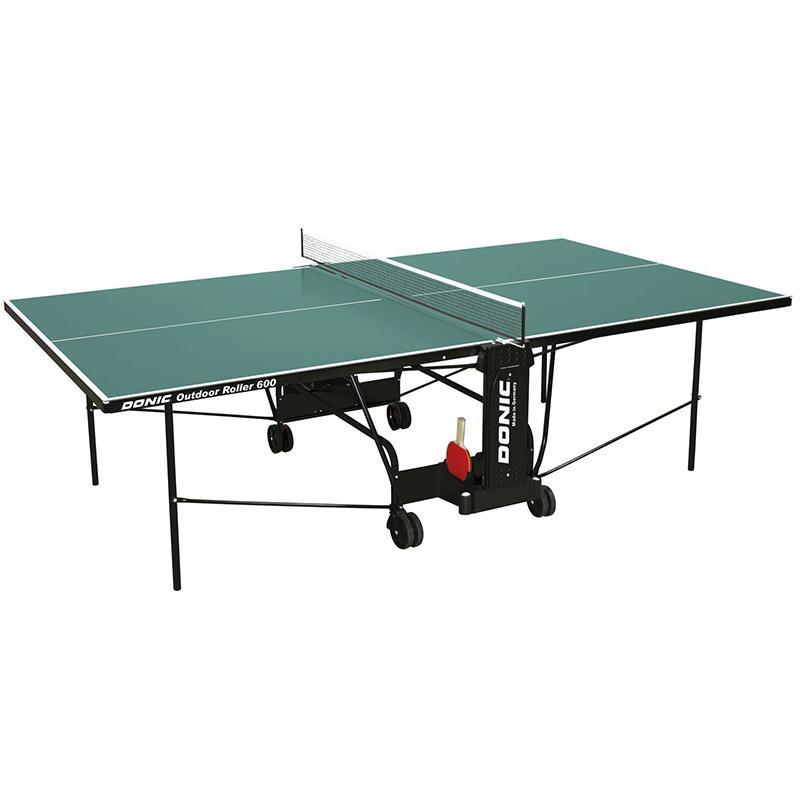 Всепогодный Теннисный стол Donic Outdoor Roller 600 зеленый 230293-G