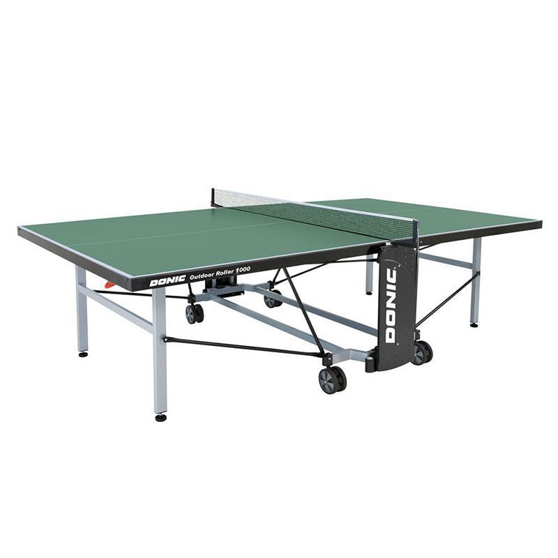Теннисный стол Donic Outdoor Roller 1000 зеленый 230291-G