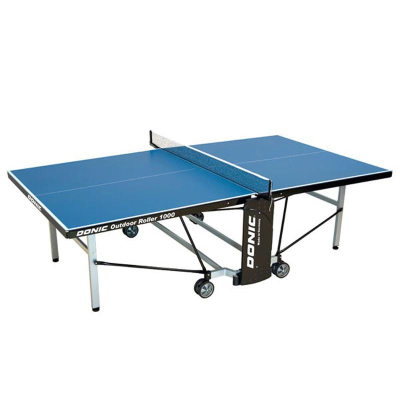 Теннисный стол Donic Outdoor Roller 1000 синий 230291-B