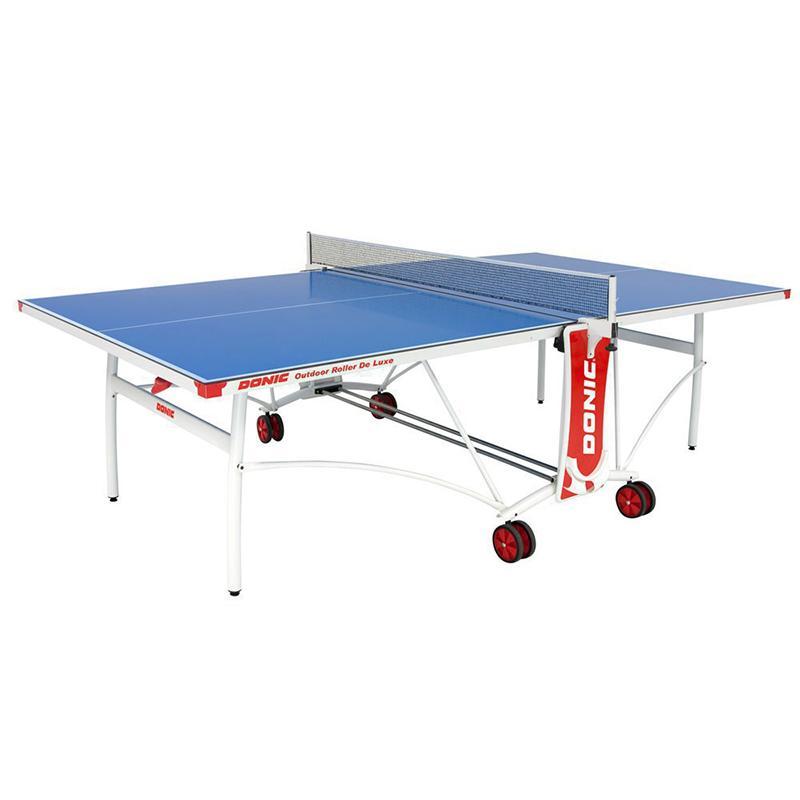 Теннисный стол Donic Outdoor Roller De Luxe синий 230232-B