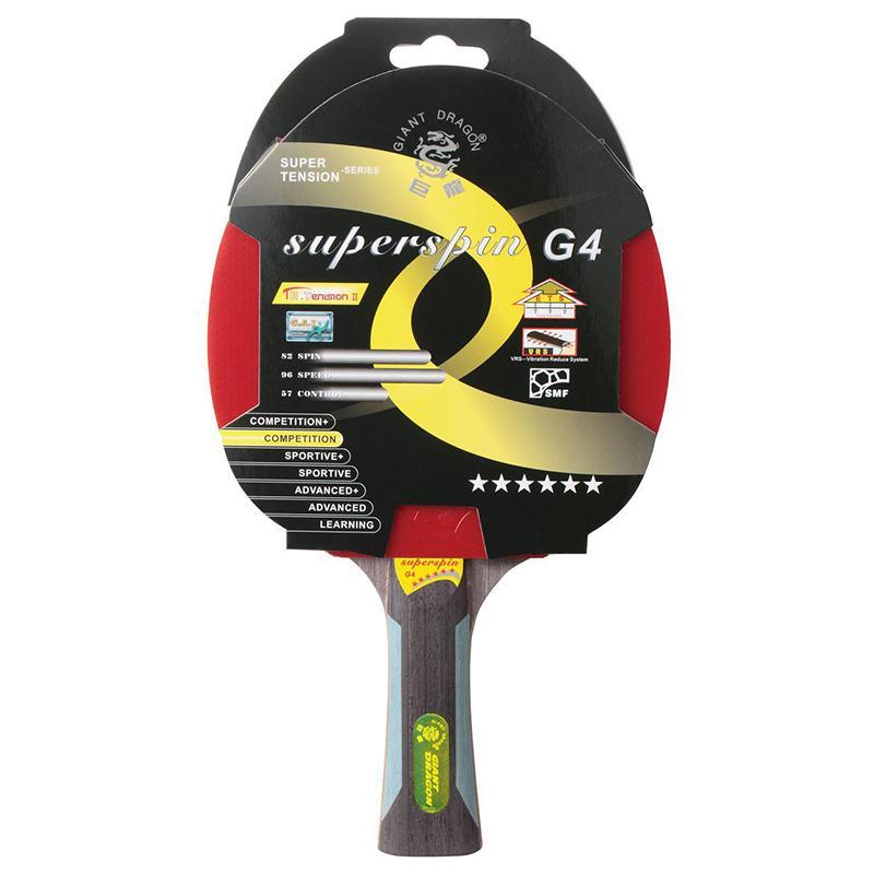 Ракетка для настольного тенниса GIANT DRAGON SuperSpin ST12601