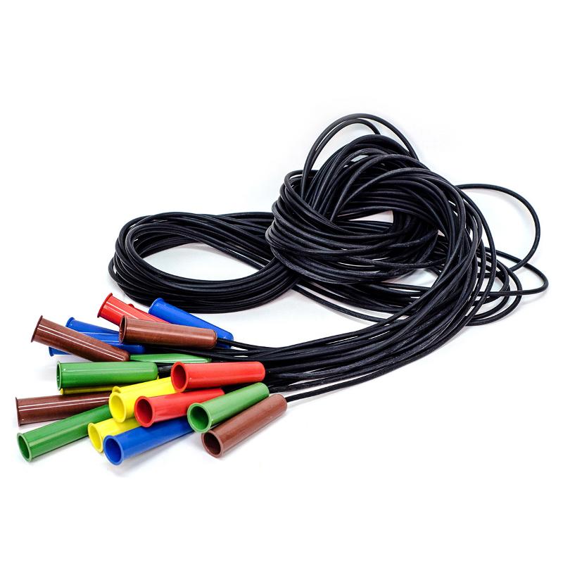 Скакалка с резиновым шнуром 2,85 м