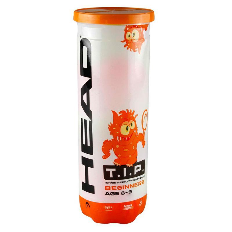 Мячи для большого тенниса HEAD T.I.P Orange 578223/578123