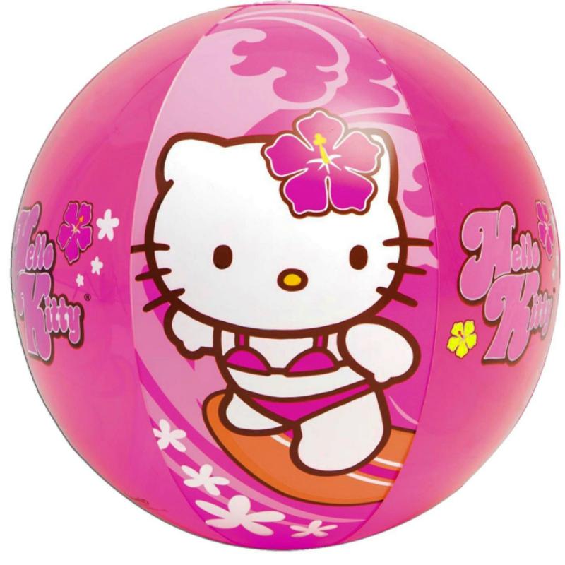 Мяч надувной INTEX Hello Kitty 58026 (51 см, от 3 лет)