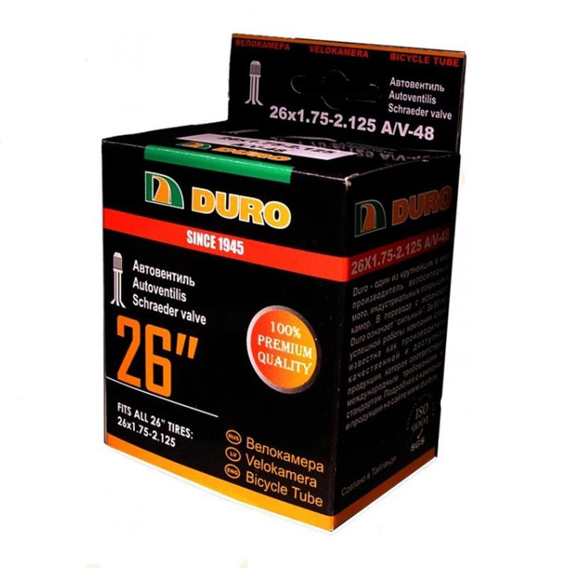 Велокамера 14 DURO 14х1,75/2,125 А/V/DHB01002
