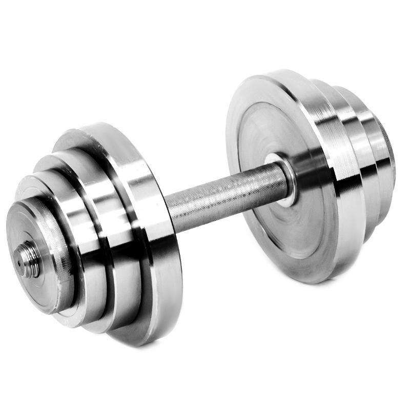 Гантель металлическая разборная АТЛАНТ 18 кг