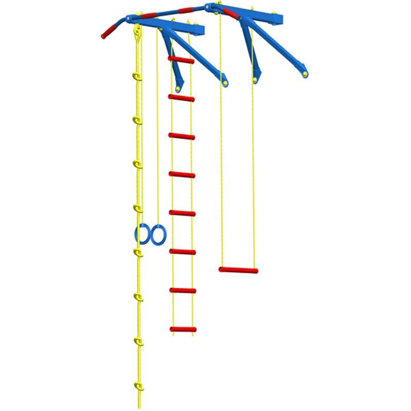 Детский спорткомплекс навесной большой Leco-IT гп030965