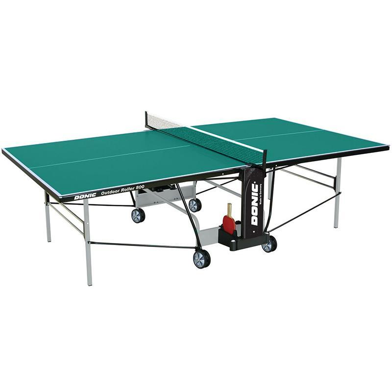 Теннисный стол DONIC Outdoor Roller 800 зеленый 230296-G