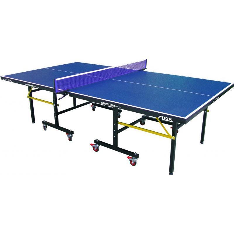 Теннисный стол тренировочный Stiga Superior Roller (19 мм)