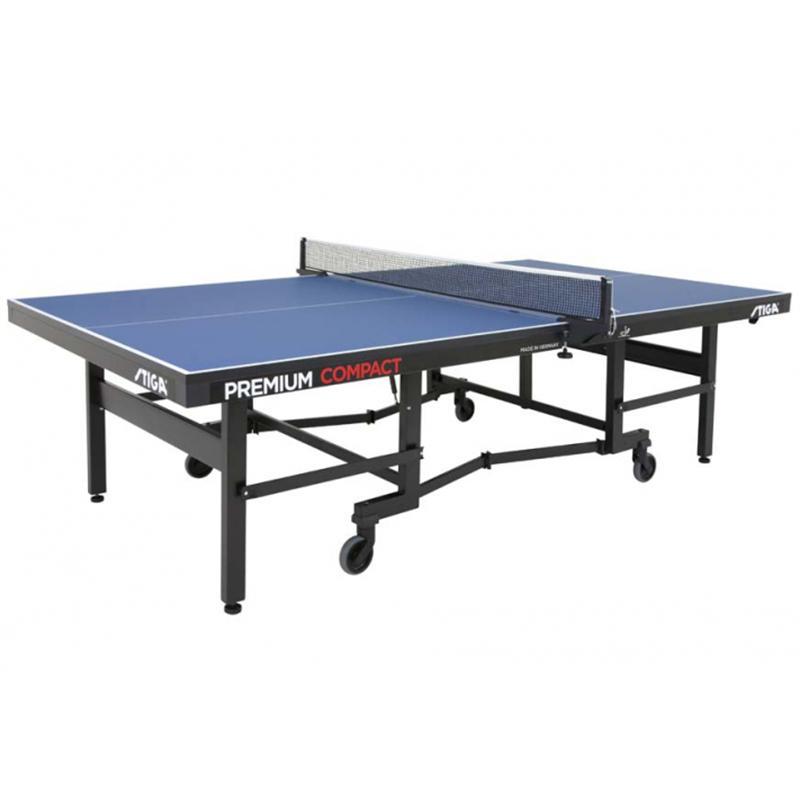 Теннисный стол профессиональный Stiga Premium Compact, ITTF (25 мм)