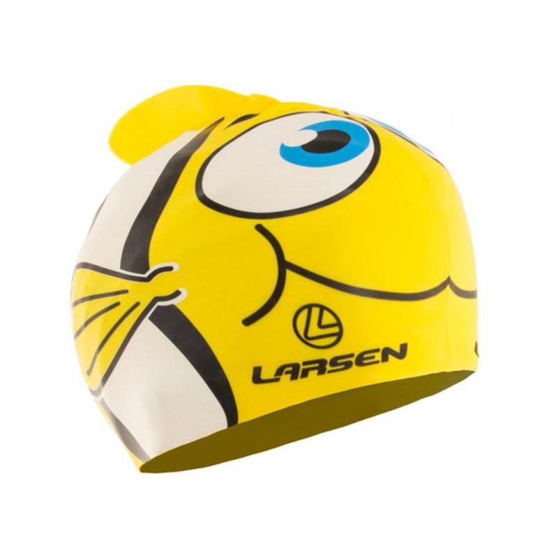 Шапочка для плавания детская LARSEN LSC10