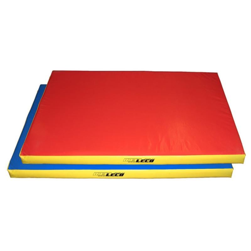 Мат гимнастический для ДСК 120х80х8 см (цветной, чехол тент, наполнитель поролон)