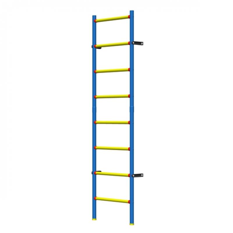 Шведская стенка пластиково-металлическая детская 200 х 50 см