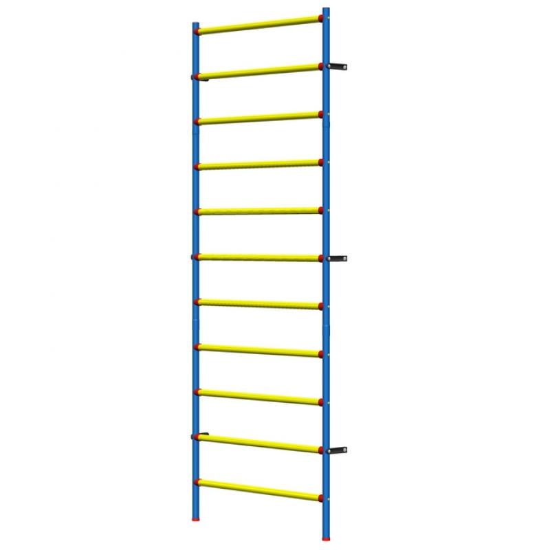 Шведская стенка пластиково-металлическая 280 х 100 см