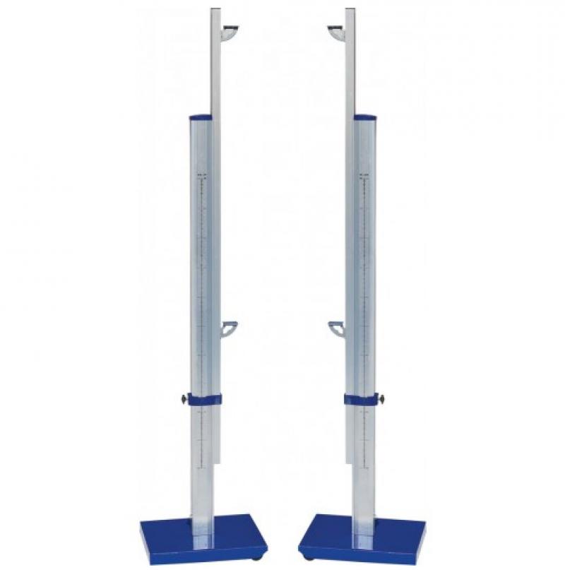 Стойки для прыжков в высоту алюминиевые телескопические до 2,6 м